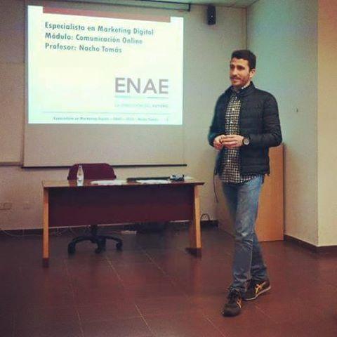 Nacho Tomás - Cursos de Formación - Marketing Online - Redes Sociales - Comunicación 3