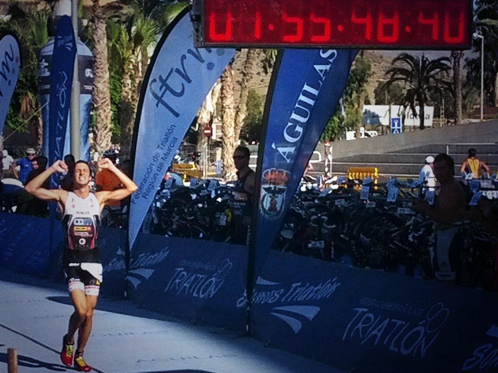 Diego Robles Campeonato España Triatlon 2014