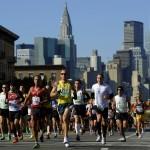 Camino al Maratón de New York.