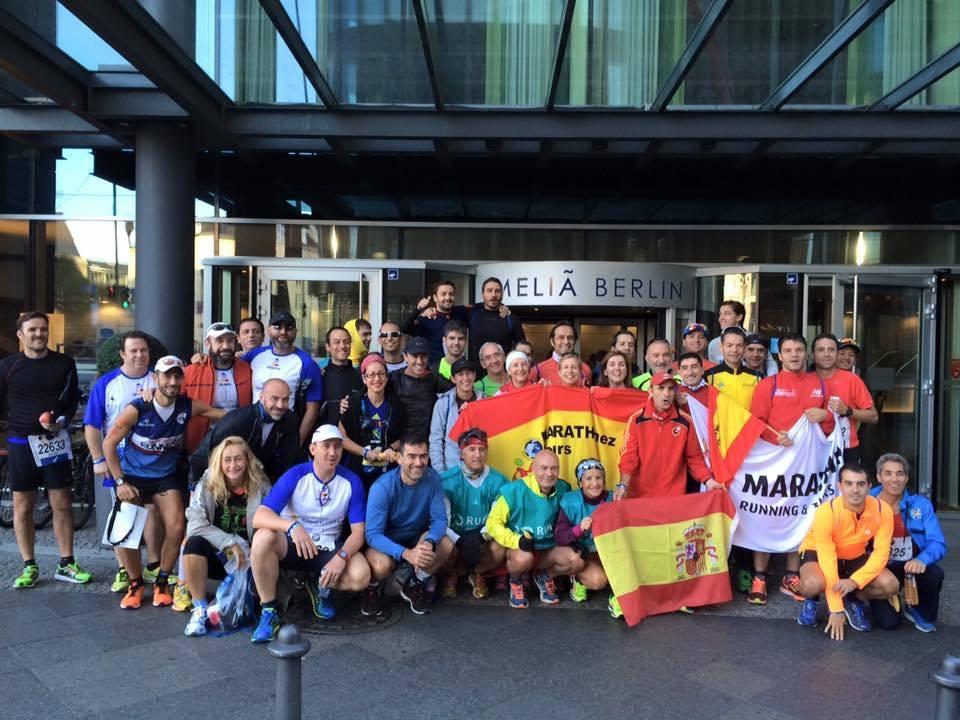 Marathinez Maraton de Berlin 2015