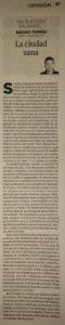 01.06.16 La ciudad sana - Nacho Tomás - Un tuitero en papel - La Verdad de Murcia